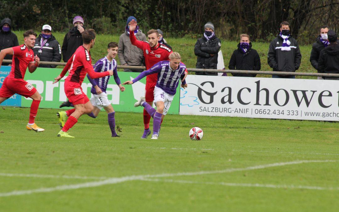 0:1-Niederlage gegen die Austria